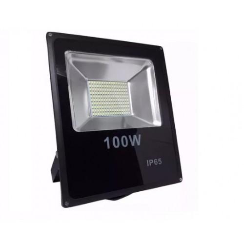 Refletor Led 100w Smd Prova D´água 110-220v Ip66