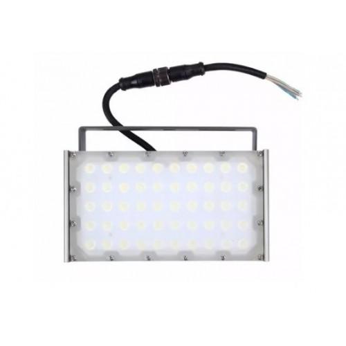 Refletor Modular De Led 50w Branco Frio À Prova D'agua Ip68
